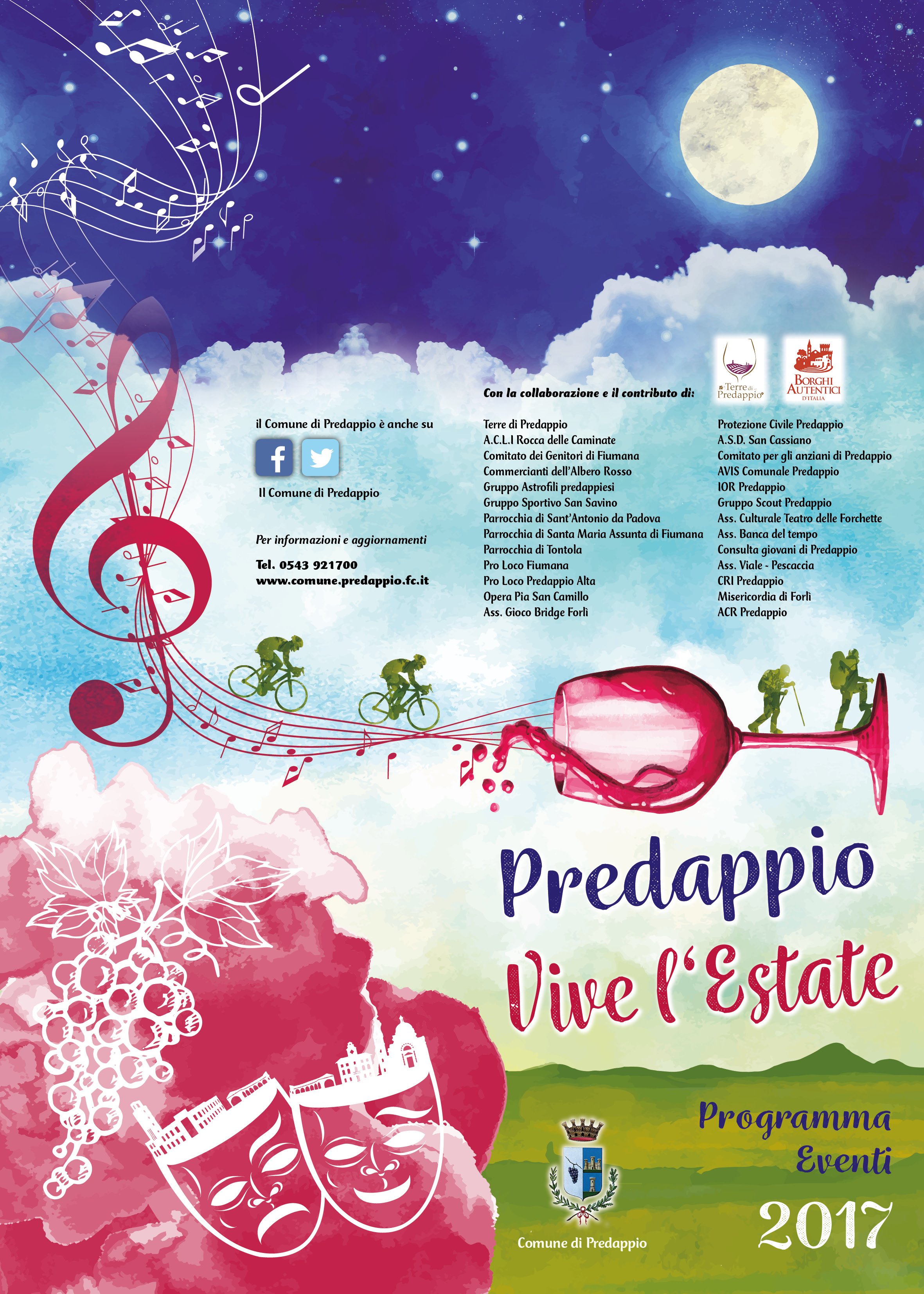 Predappio Estate Pieg 2017
